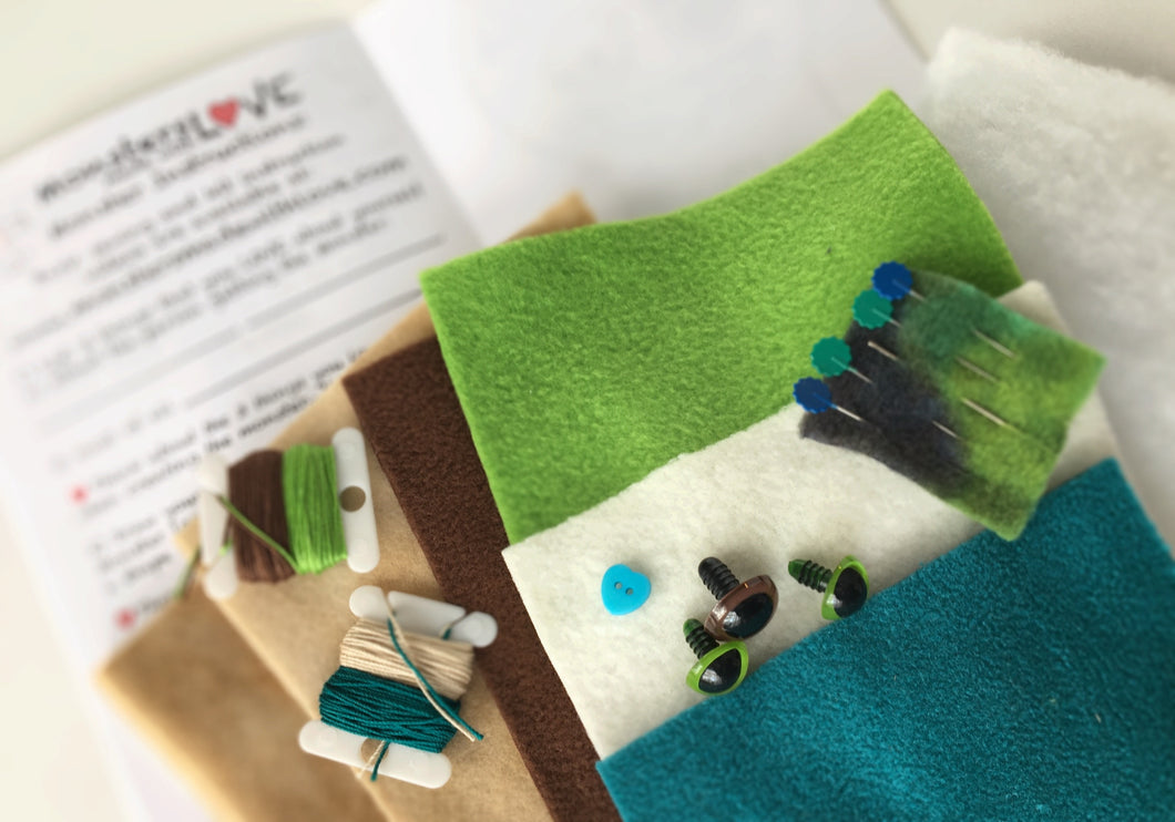 It's Sew Easy to Create Your Own Monster - Earthy