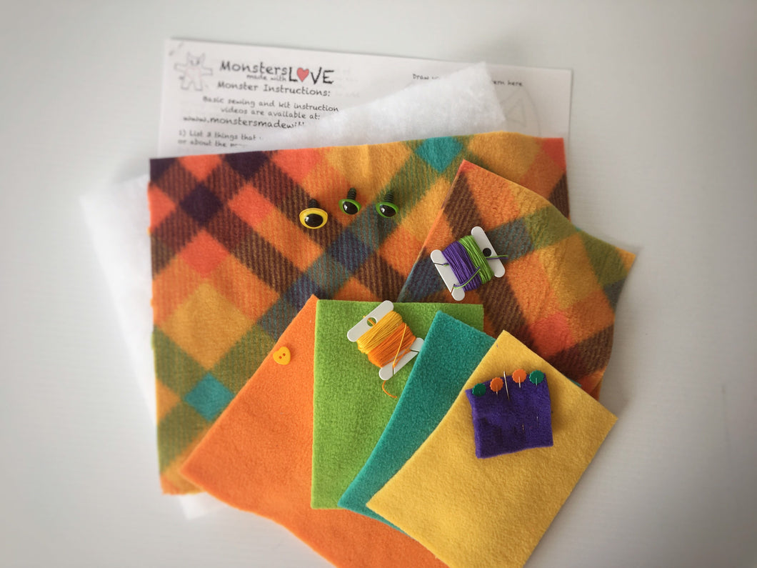 It's Sew Easy to Create Your Own Monster Kit - Fall Festival