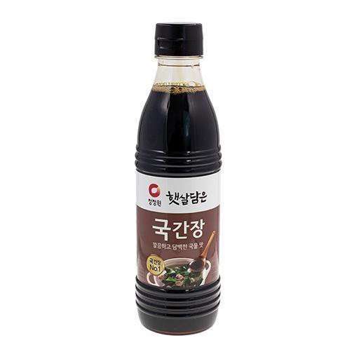 Chungjungone haetsal Soy sauce for soup 500mL - K-Mart