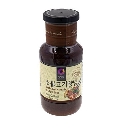 Chungjungone bulgogi sauce for beef 280g - K-Mart