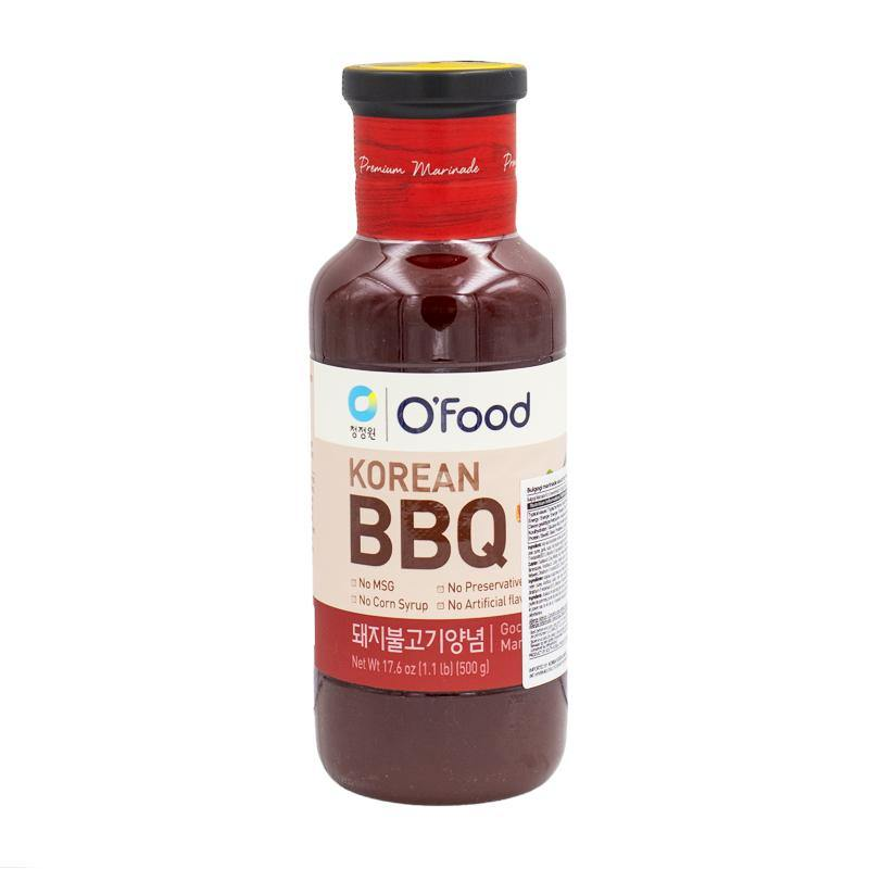O'Food Korean BBQ  pork bulgogi marinade hot 500g - K-Mart