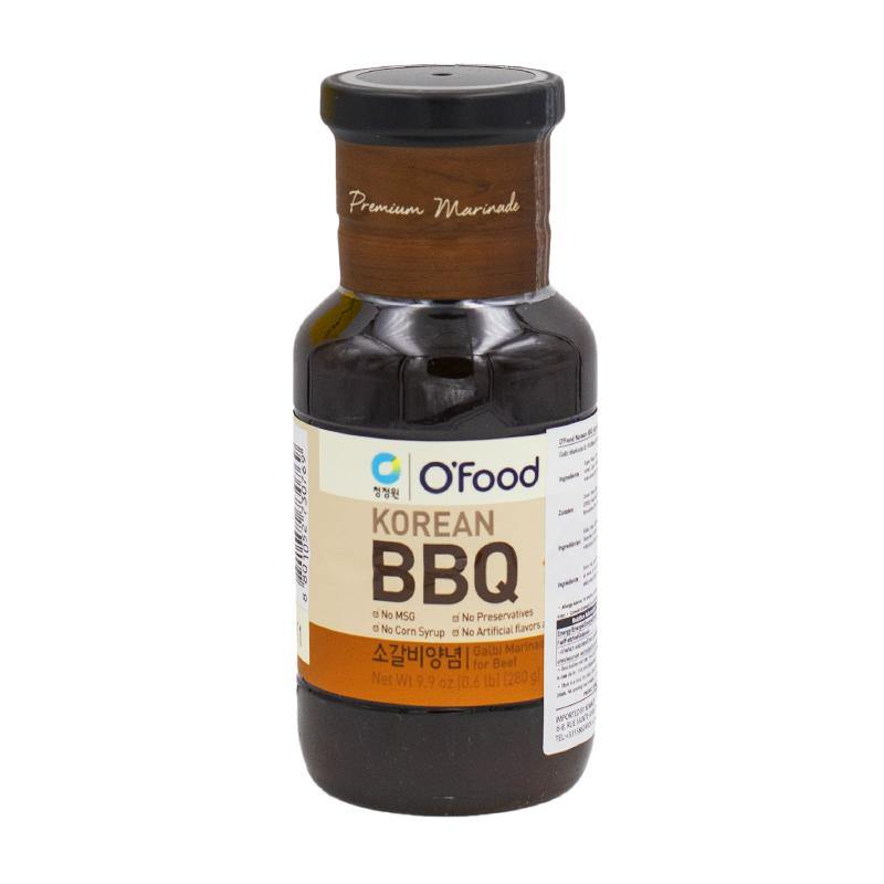 O'Food Korean BBQ beef galbi marinade 280g - K-Mart