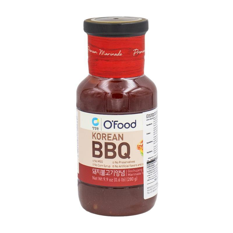 O'Food Korean BBQ  pork bulgogi marinade hot 280g - K-Mart