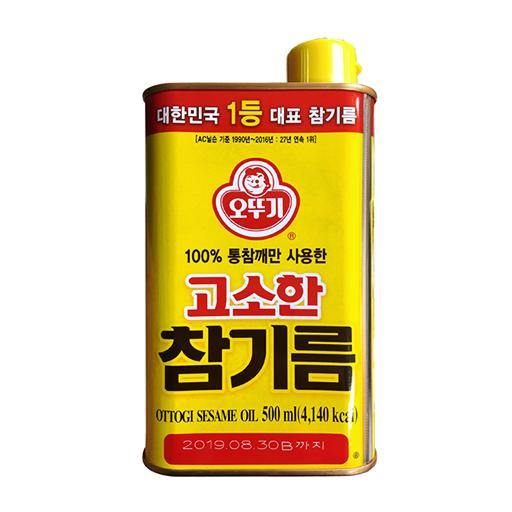 Ottogi sesame oil 500 ml - K-Mart