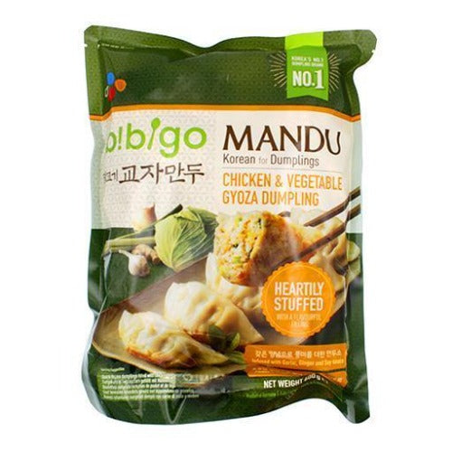Bibigo chicken & vegetable dumpling 600g - K-Mart