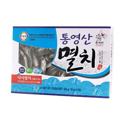 Boiled & dried anchovy 453g - K-Mart
