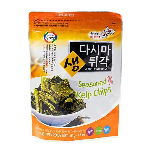 Surasang seasoned kelp chips 51g - K-Mart