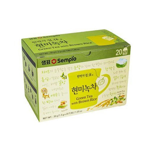 Green tea with brown rice 30g - K-Mart