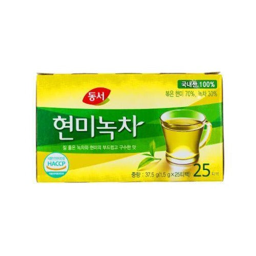 Green tea with brown rice 37.5g - K-Mart