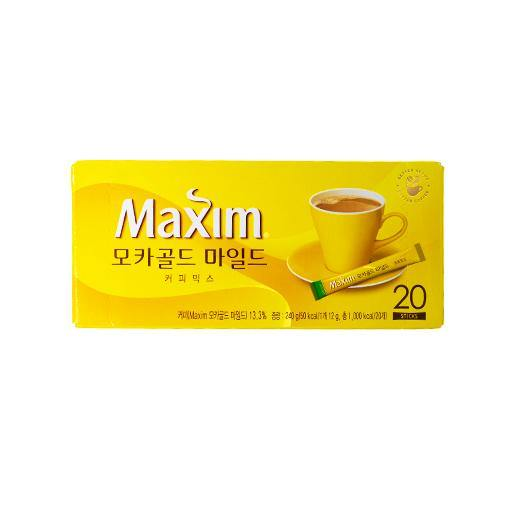 Maxim mocha gold mild coffee mix 240g - K-Commerce