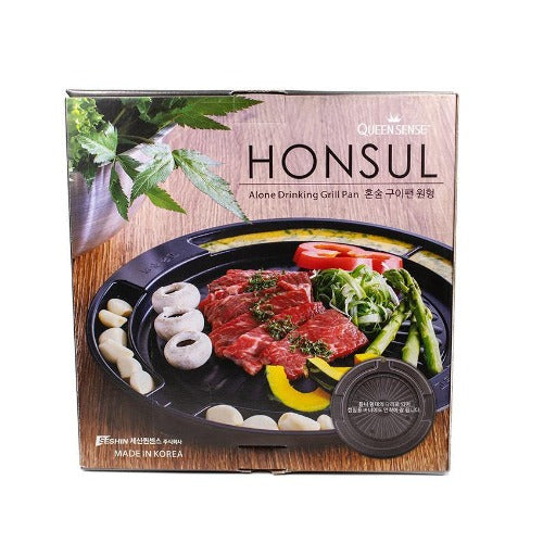 Grill pan for BBQ alone drinking grill pan HONSUL 600g - K-Mart