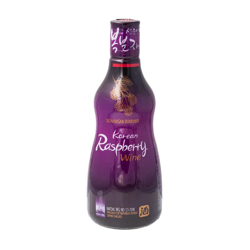 Korean raspberry wine Bok bun ja 375ml - K-Mart