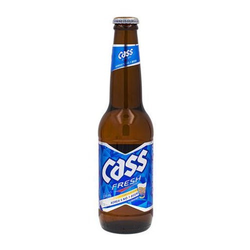 Cass beer bottle 330mL - K-Mart
