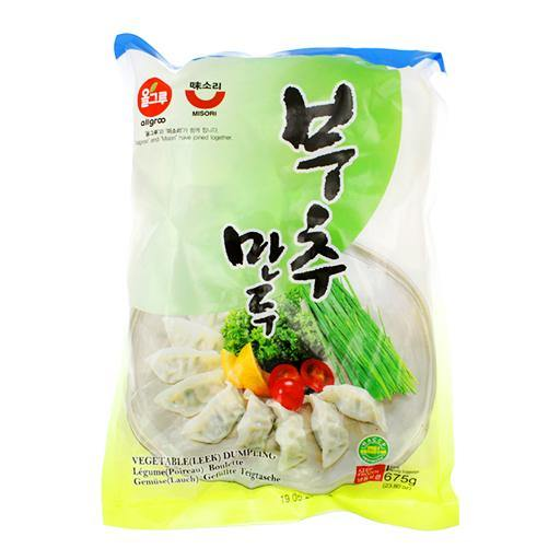 Vegetable(leek) dumpling 675g - K-Mart