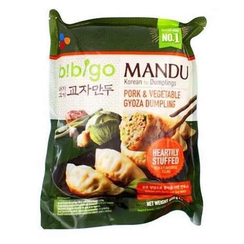 Bibigo pork & vegetable dumpling 600g - K-Mart