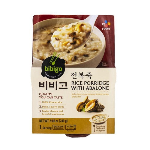 Bibigo rice porridge with abalone 280g - K-Mart