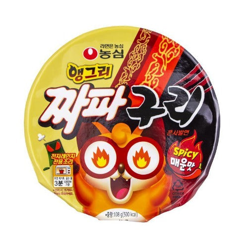 Angry jjapaguri spicy 108g - K-Mart