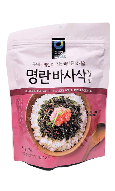 Roasted seaweed flakes with pollack roe 50g - K-Commerce