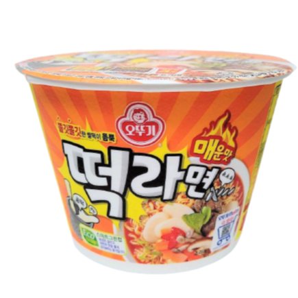 Tteok ramen big bowl ramen 140g - K-Commerce