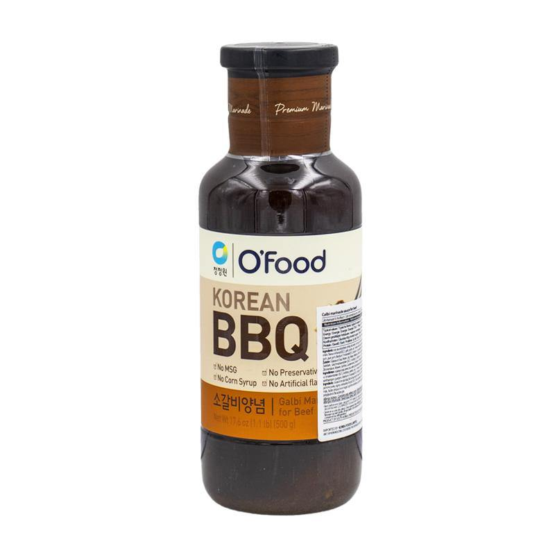 O'Food Korean BBQ beef galbi marinade 500g - K-Mart