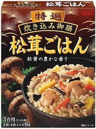 Tokusen instant rice with mushrooms 228g - K-Mart