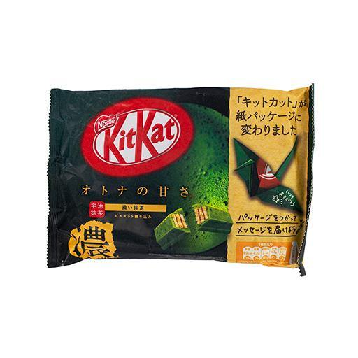 KitKat strong green tea matcha 128g - K-Commerce