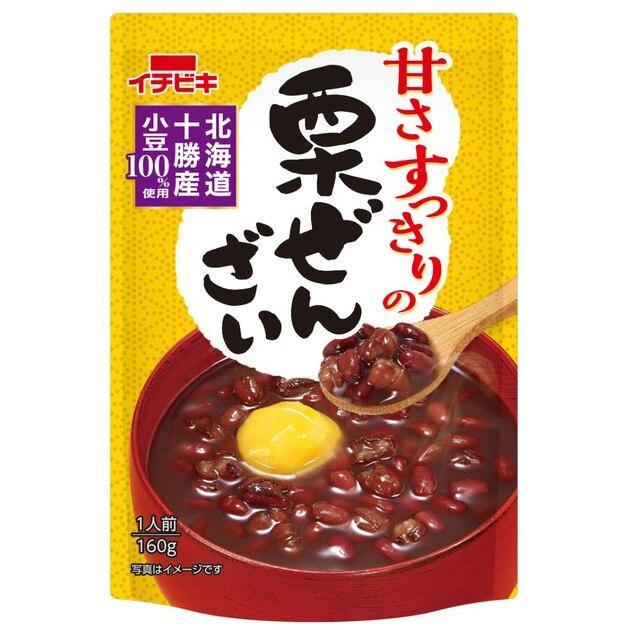 Sweet red bean soup with chestnut 160g - K-Mart