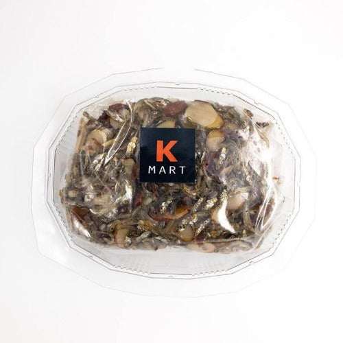 K-Mart Stir fried dried anchovies and almond 200g - K-Mart