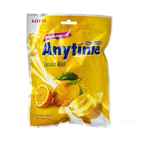 Anytime lemon mint sugar free 74g - K-Mart