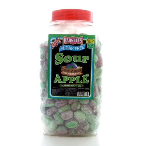 Barnett's Sugar Free Sour Apple - 3kg