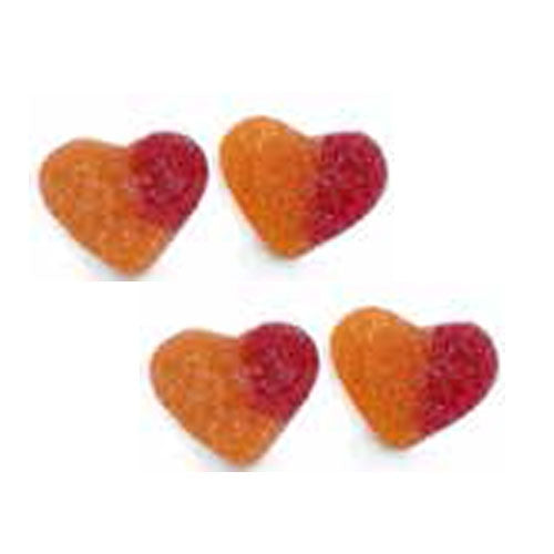 Dulce Plus Peach Hearts - 1kg