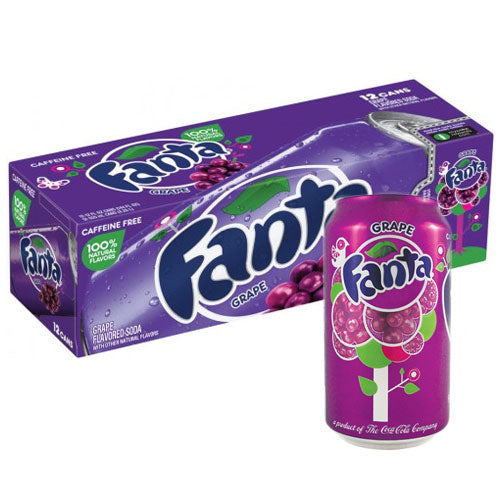 Fanta Grape - 12 Count - MARCH 2021 DATED