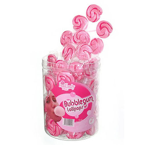 Fun Kandy Bubblegum Pops - 50 Count