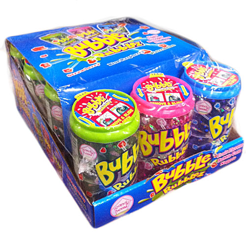 Crazy Candy Factory Bubble Rubblez - 12 Count
