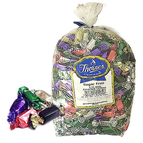 Thornes Sugar Free Assorted Toffees - 2.75kg
