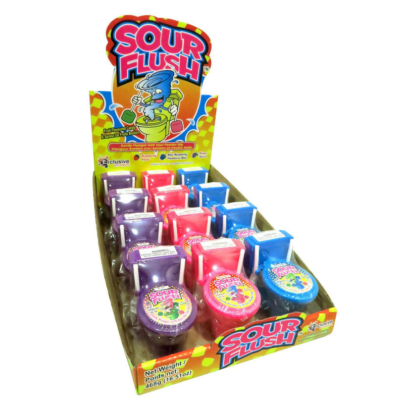 What Next Sour Flush Candy - 12 Count
