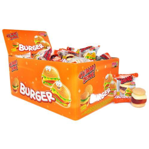 Gummi Zone Burgers - 60 Count