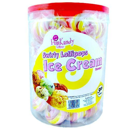 Fun Kandy Ice Cream Pops - 50 Count