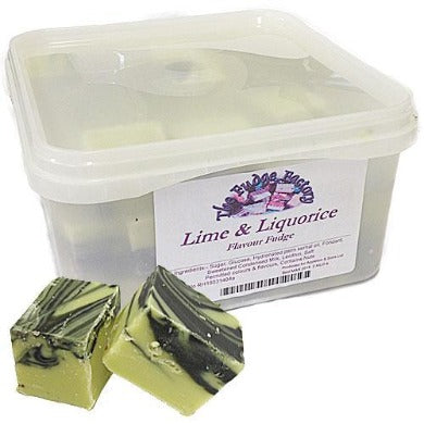 Fudge Factory Lime & Liquorice Fudge - 2kg
