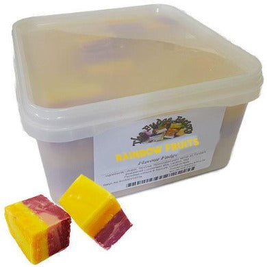 Fudge Factory Rainbow Fruits Fudge - 2kg