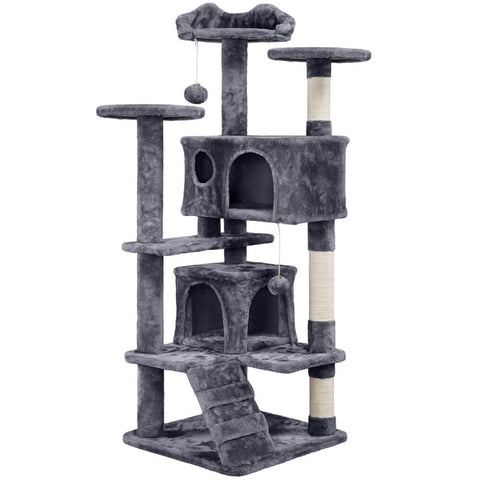 "54.5"" Cat Tree Tower Condo"