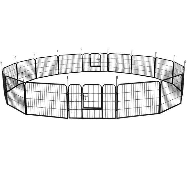 Dog Playpen 24 Inch 16/24 Panels