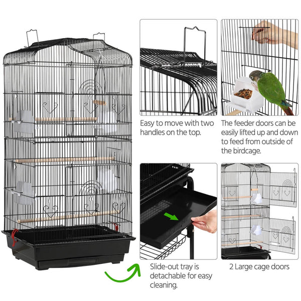 64-inch Parrot Cage