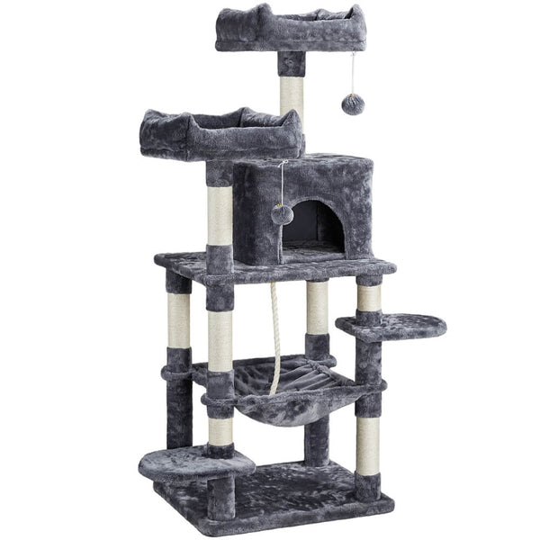"58""H Multi-Level Cat Tree Tower"