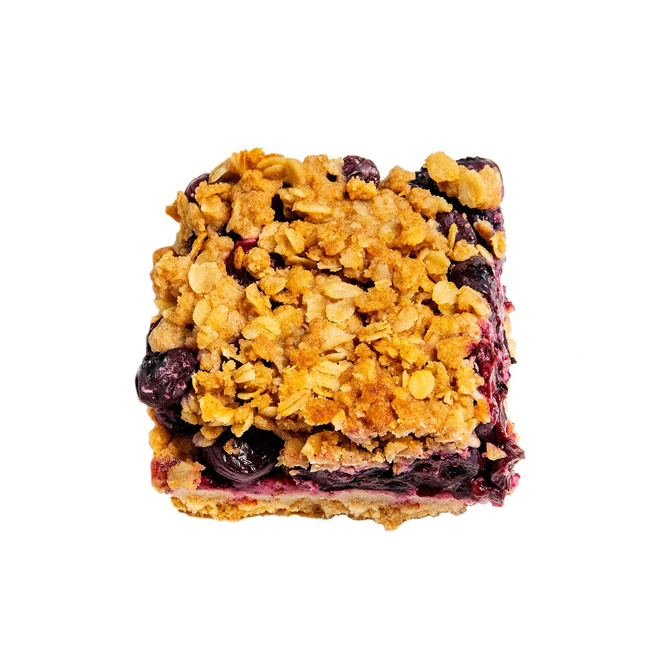 Blueberry Blackberry Crumble