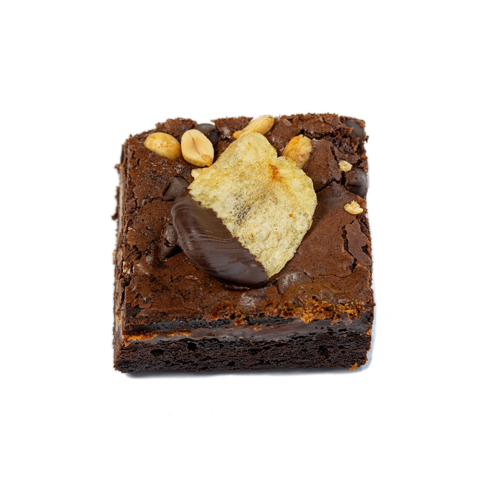 Salted Peanuts N' Chips Brownie