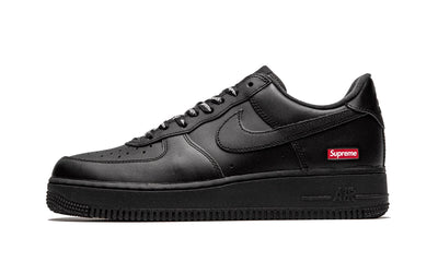 Baskets Air Force 1 Low Black Supreme Nike Kikikickz