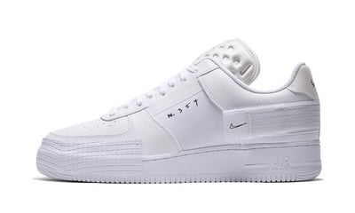 Baskets Air Force 1 Low Drop Type Triple White Nike Kikikickz