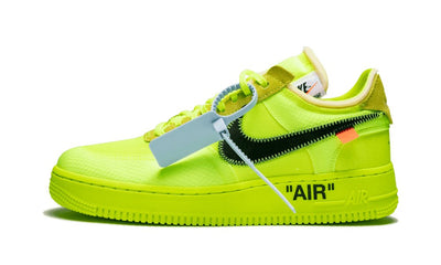 Air Force 1 Low Off White Volt Sneakers Nike homme femme