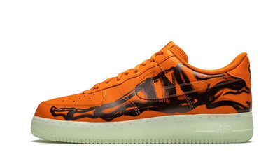 Air Force 1 Low Orange Skeleton Halloween (2020) Sneakers Nike homme femme
